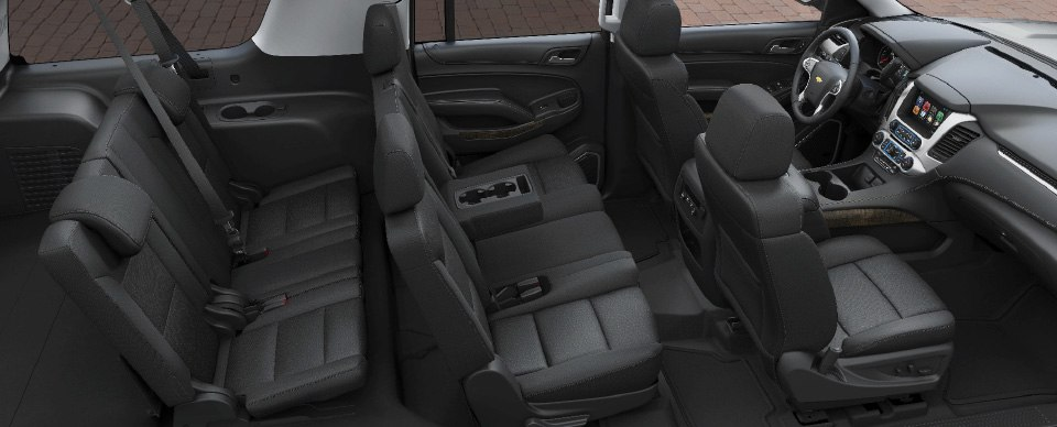 2017-gmfleet-chevrolet-suburban-interior-2-960x388 - Bakersfield Limousine and Transport
